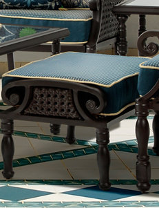 Bombay Espresso Ottomans & Benches Patio & Outdoor Furniture