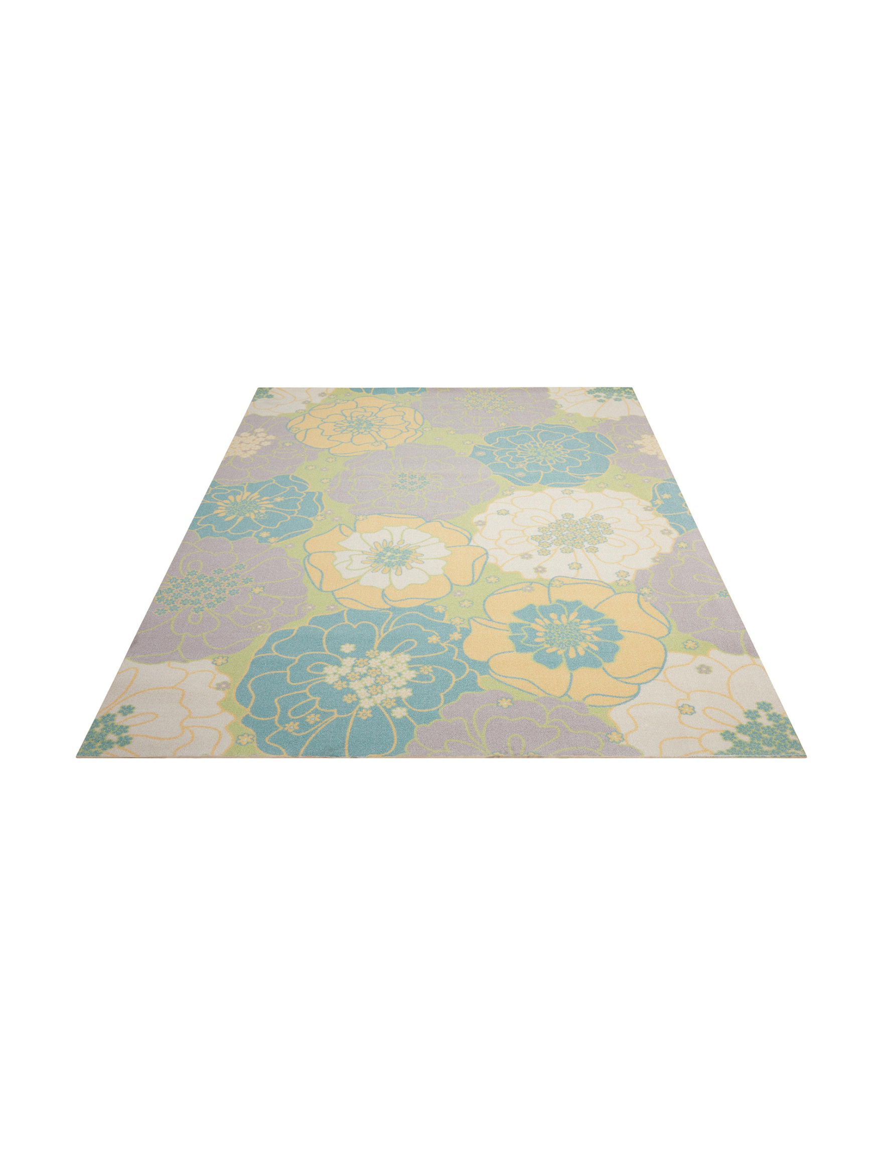 Nourison Green Accent Rugs Area Rugs Outdoor Rugs & Doormats Runners Outdoor Decor Rugs