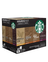 Keurig® K-Cup® 40-Count Variety Pack - Starbucks Variety Roast Coffee