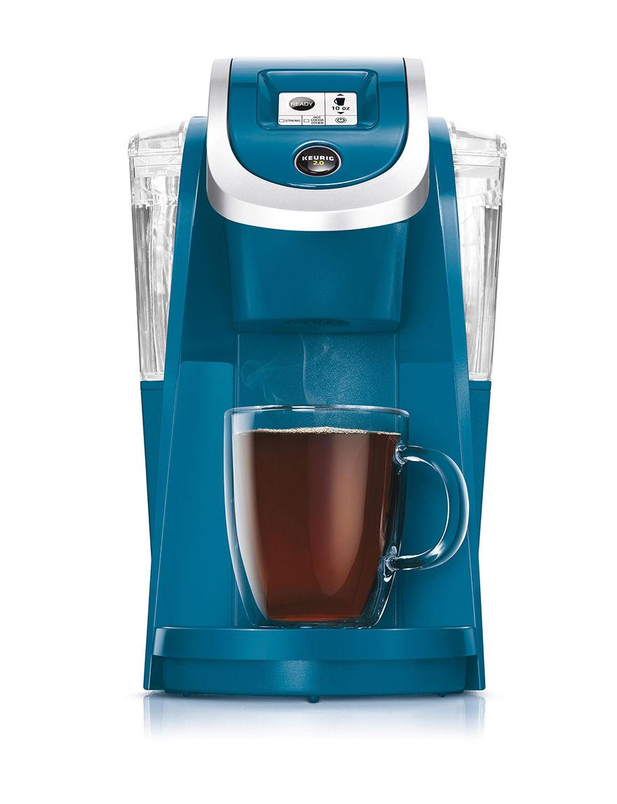 Keurig Peacock Blue Coffee, Espresso & Tea Makers Kitchen Appliances
