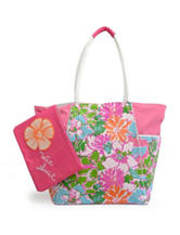 Rugged Equipment Multicolor Floral Print Tote
