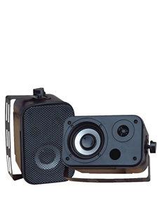 Pyle Black Speakers & Docks Home & Portable Audio