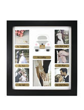 Fetco Just Married Wedding Collage Frame