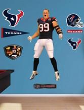Fathead 9-pc. J.J. Watt Houston Texans Wall Decals