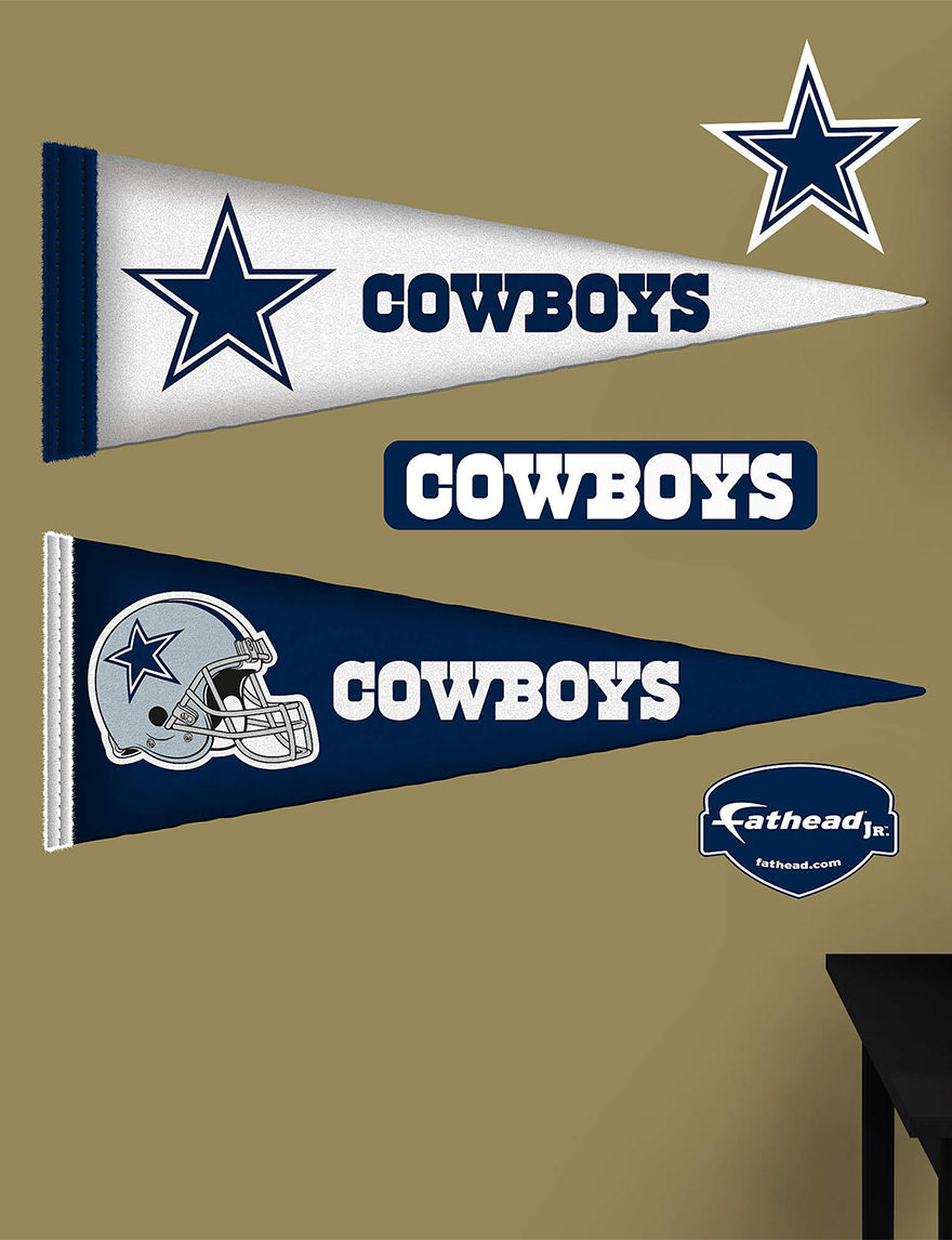 Fathead Black Wall Art Game Room NFL Wall Decor