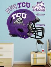 Fathead 6-pc. TCU Horned Frogs Chrome Helmet Wall Decal