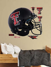 Fatheads 7-pc. Texas Tech Red Raiders Black Helmet Wall Decals