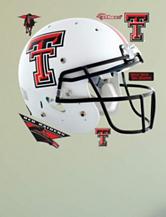 Fatheads 7-pc. Texas Tech Red Raiders White Helmet Wall Decals