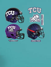 Fathead 8-pc. TCU Horned Frogs Helmet Collection Wall Decals