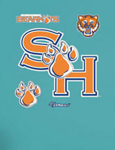 Fathead 5-pc. Sam Houston State Bearkats Logo Wall Decals