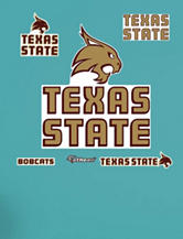 Fathead 6-pc. Texas State Bobcats Logo Wall Decals