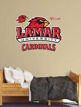 Fathead 4-pc. Lamar Cardinals Logo Wall Decals