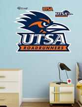 Fathead 4-pc. Texas San Antonio Roadrunners Logo Wall Decals