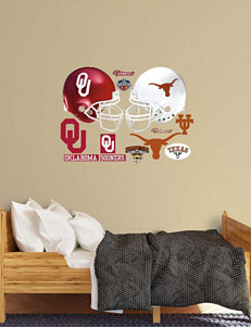 Fathead 13-pc. Texas vs. Oklahoma Rivalry Pack Wall Decals