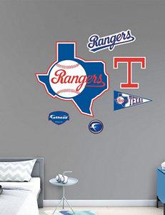 Fathead 6-pc. Texas Rangers Classic Logo Wall Decals