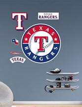Fathead 6-pc. Texas Rangers Logo Wall Decals