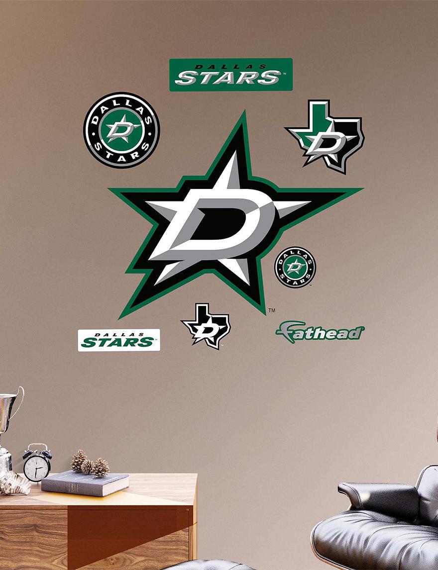 Fathead Black Wall Art Game Room NHL Wall Decor