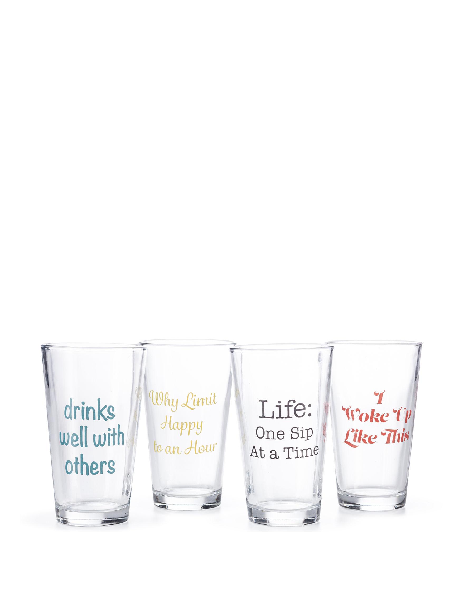 Circle Glass Multi Drinkware Sets Drinkware