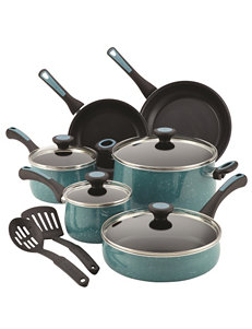 Paula Deen Blue Cookware Sets Cookware
