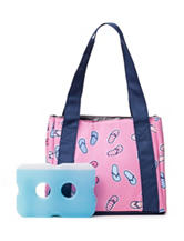Fit & Fresh Venice Flip Flop Lunch Tote Bag
