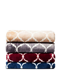 Great Hotels Collection Cranberry Blankets & Throws