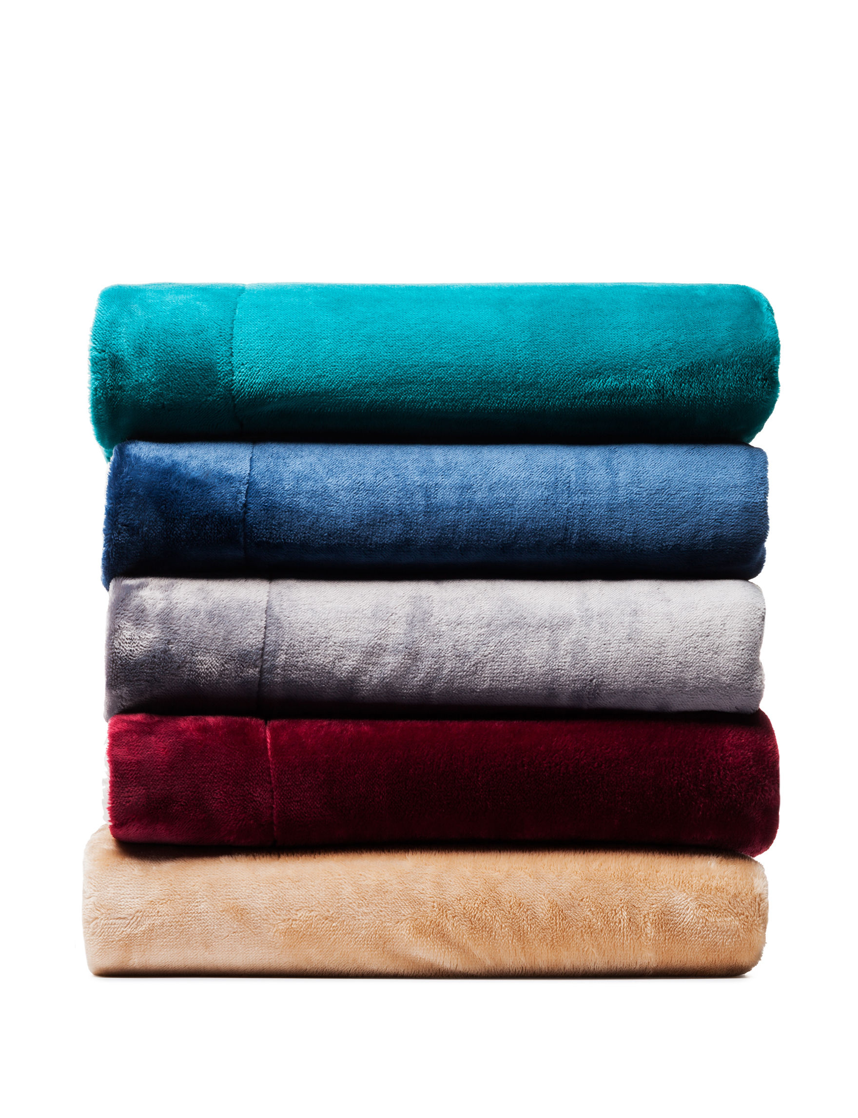 Great Hotels Collection Aqua Blankets & Throws