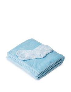 Great Hotels Collection Blue Blankets & Throws