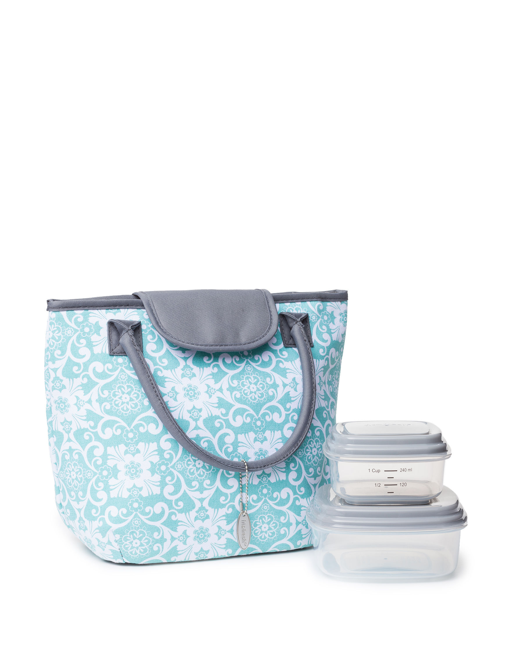 Fit & Fresh Aqua Lunch Boxes & Bags