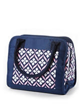 Fit & Fresh Navy Carolina Lily Lunch Tote