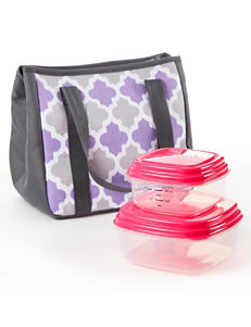 Fit & Fresh Lilac Lunch Boxes & Bags