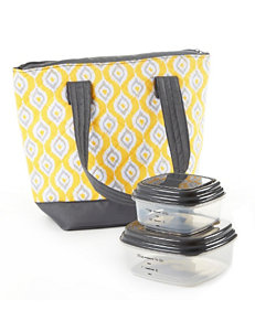 Fit & Fresh Yellow Lunch Boxes & Bags
