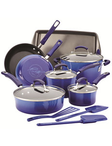 Rachael Ray 14-pc. Hard Enamel Cookware Set