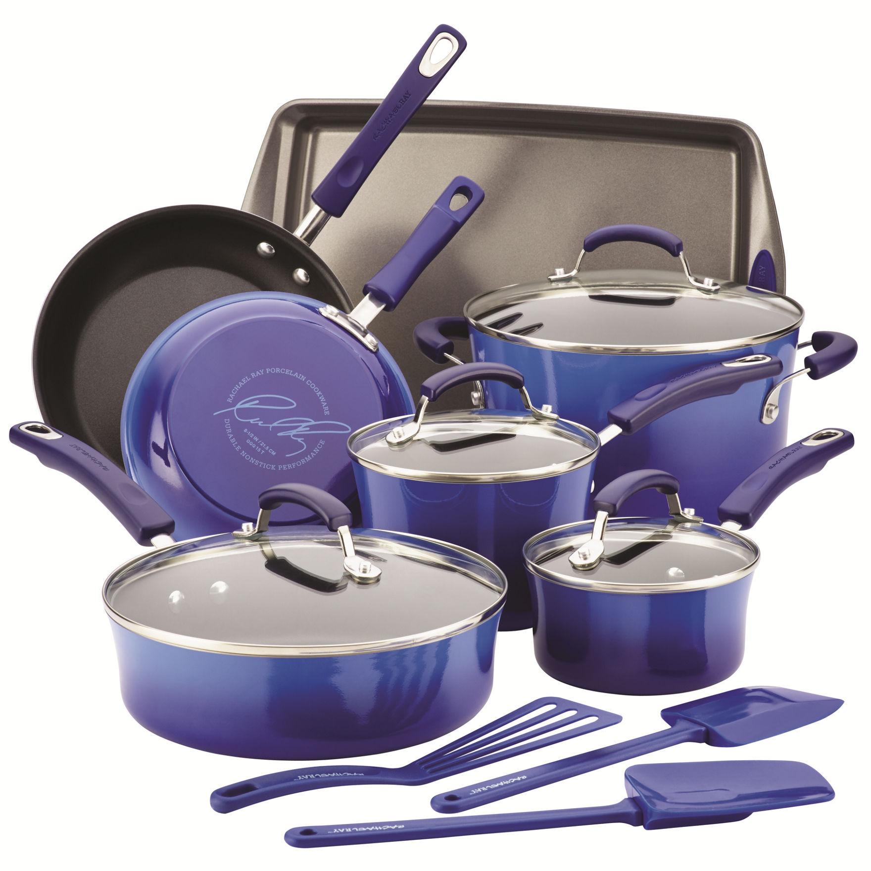 Rachael Ray Blue Cookware Sets Cookware