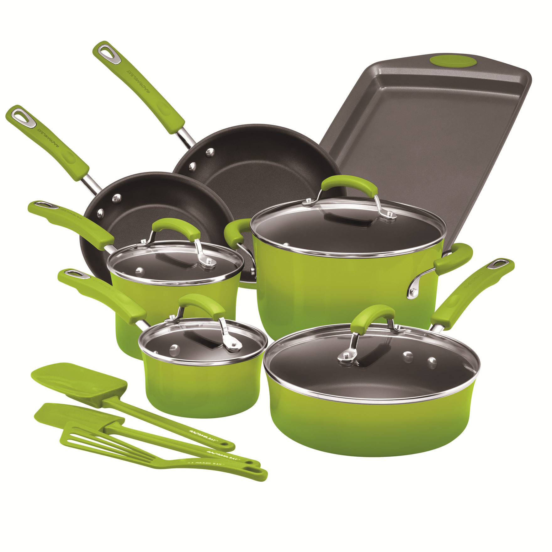 Rachael Ray Green Cookware Sets Cookware