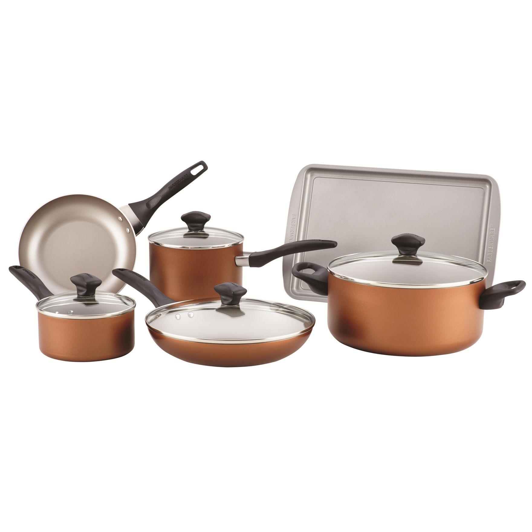 Farberware Copper Cookware Sets Cookware