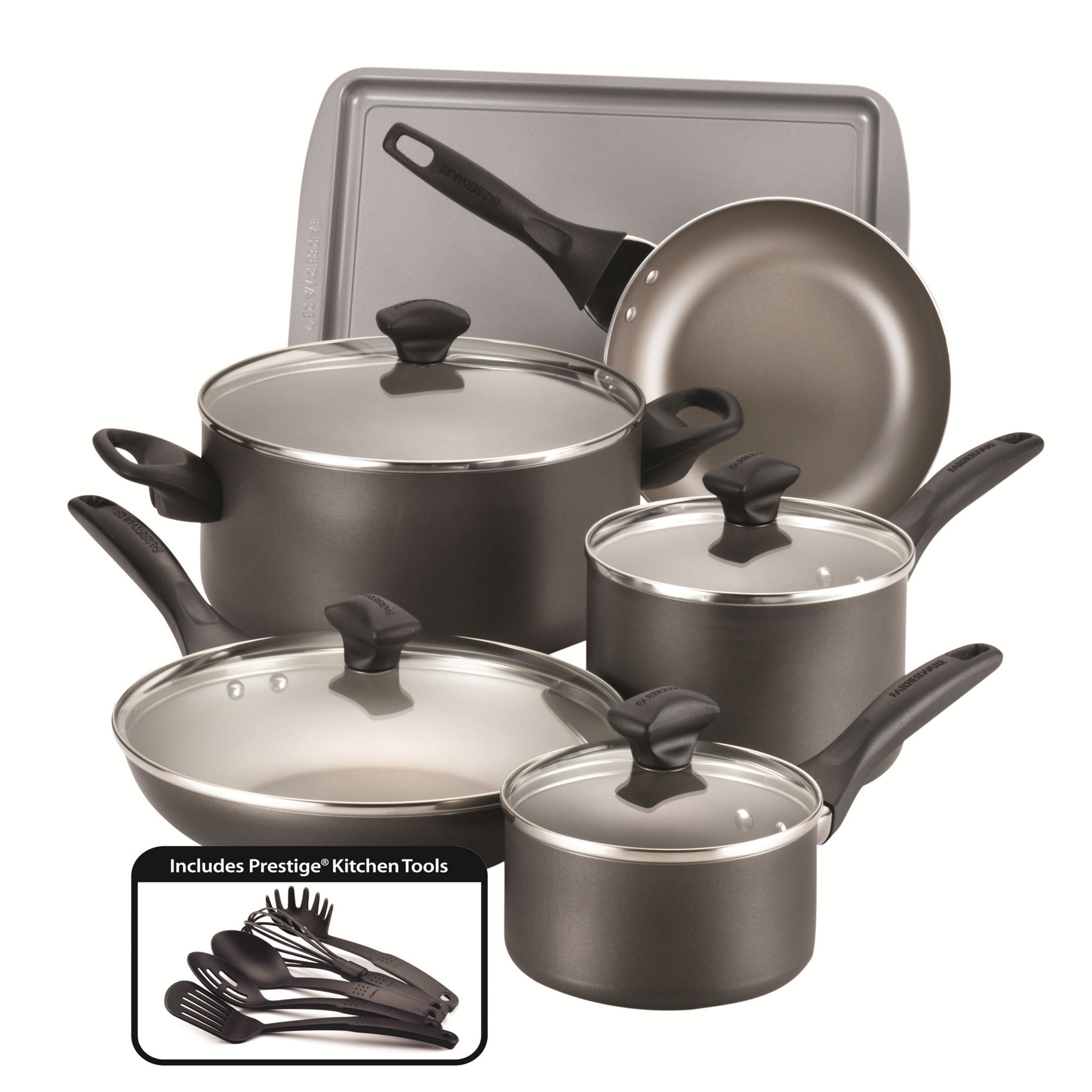 Farberware Pewter Cookware Sets Cookware