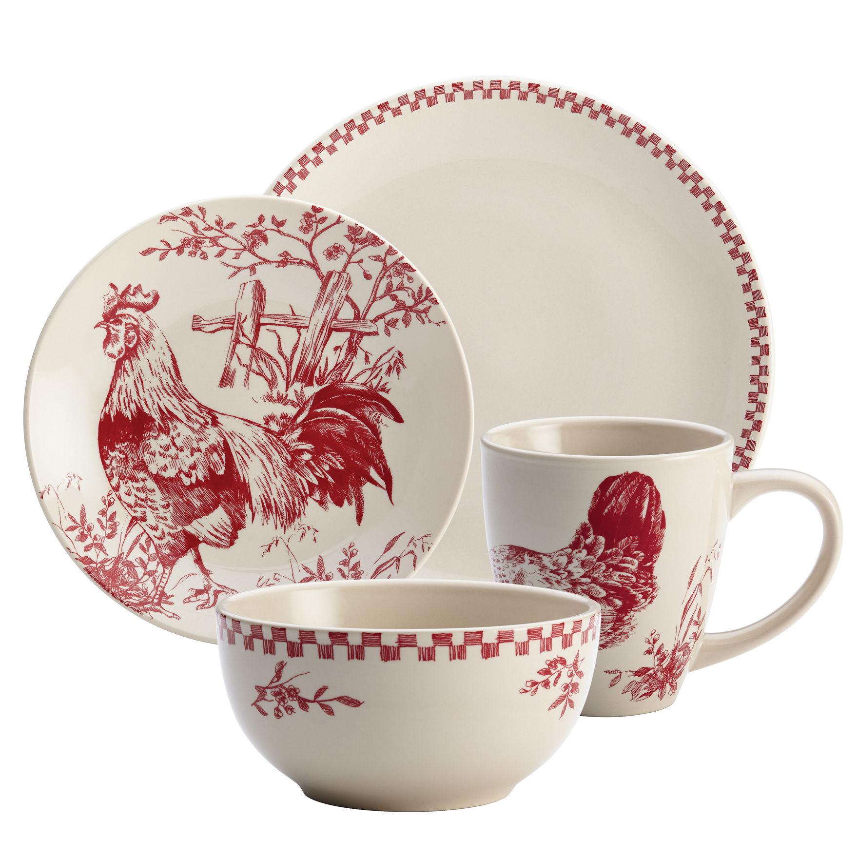 Farberware Red Mugs Drinkware