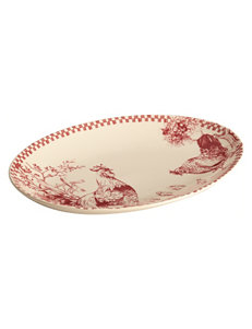 Farberware Red Serving Platters & Trays Serveware