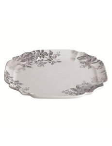 Farberware Square Platter Bonjour Shaded Garden Collection