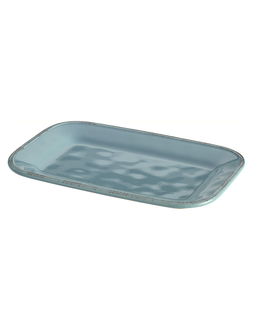 Rachael Ray Blue Serving Platters & Trays Serveware