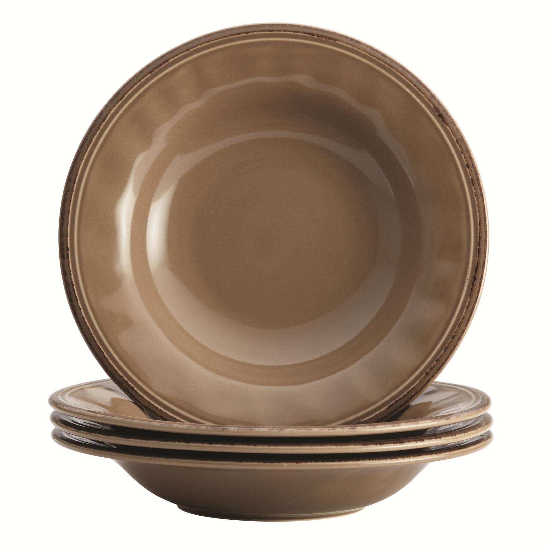 Rachael Ray Mushroom Bowls Dinnerware