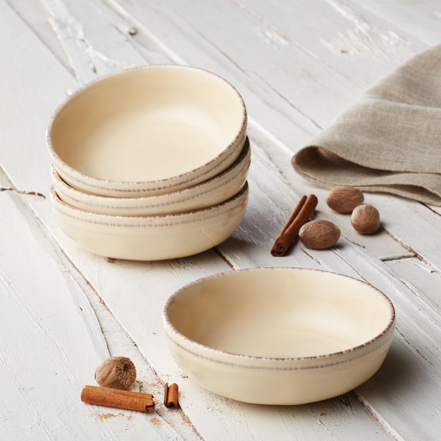 Rachael Ray Cream Bowls Dinnerware