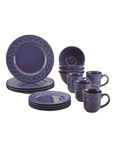 Paula Deen Blue Dinnerware Sets Cookware Dinnerware