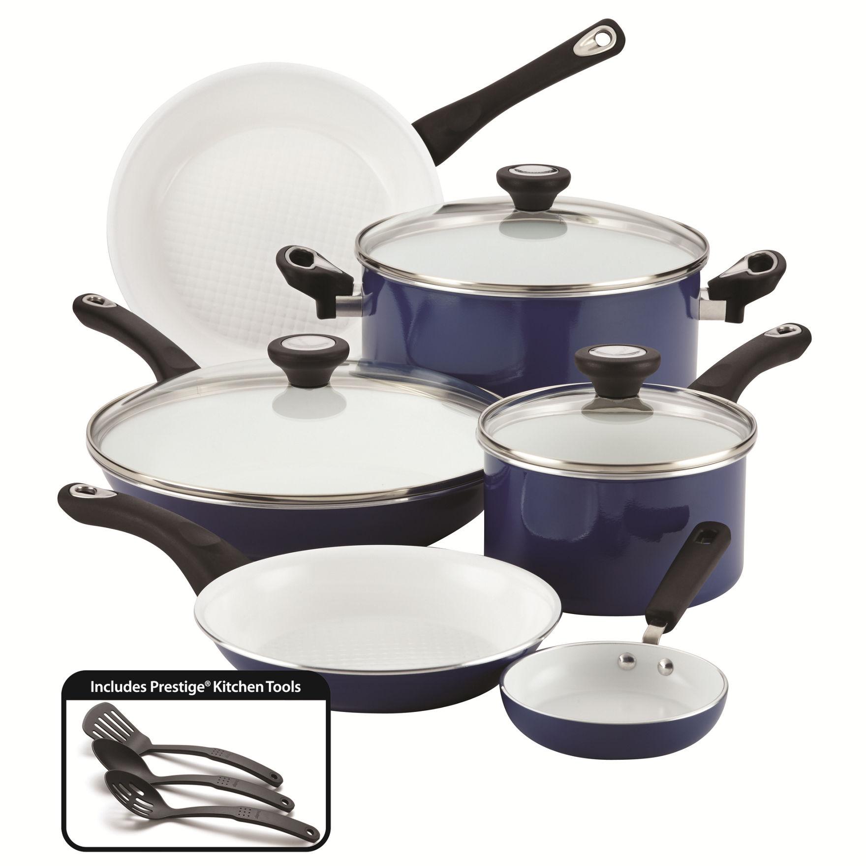 Farberware 12-pc. Purecook Ceramic Non-Stick Cookware Set ...