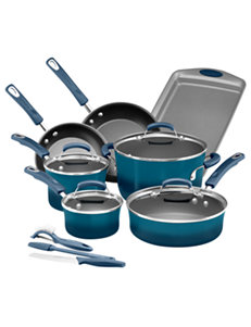 Rachael Ray Blue Cookware Sets Cookware