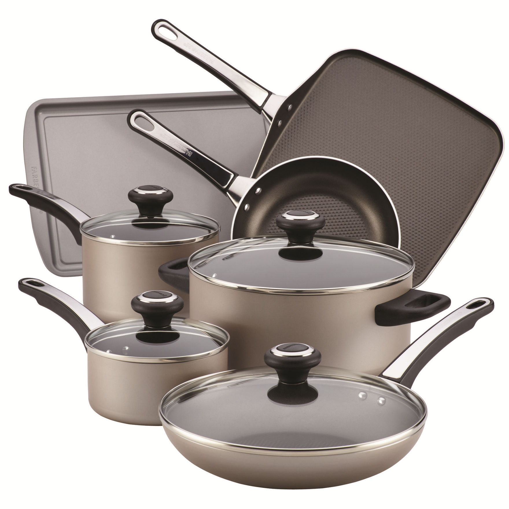Farberware Chocolate Cookware Sets Cookware