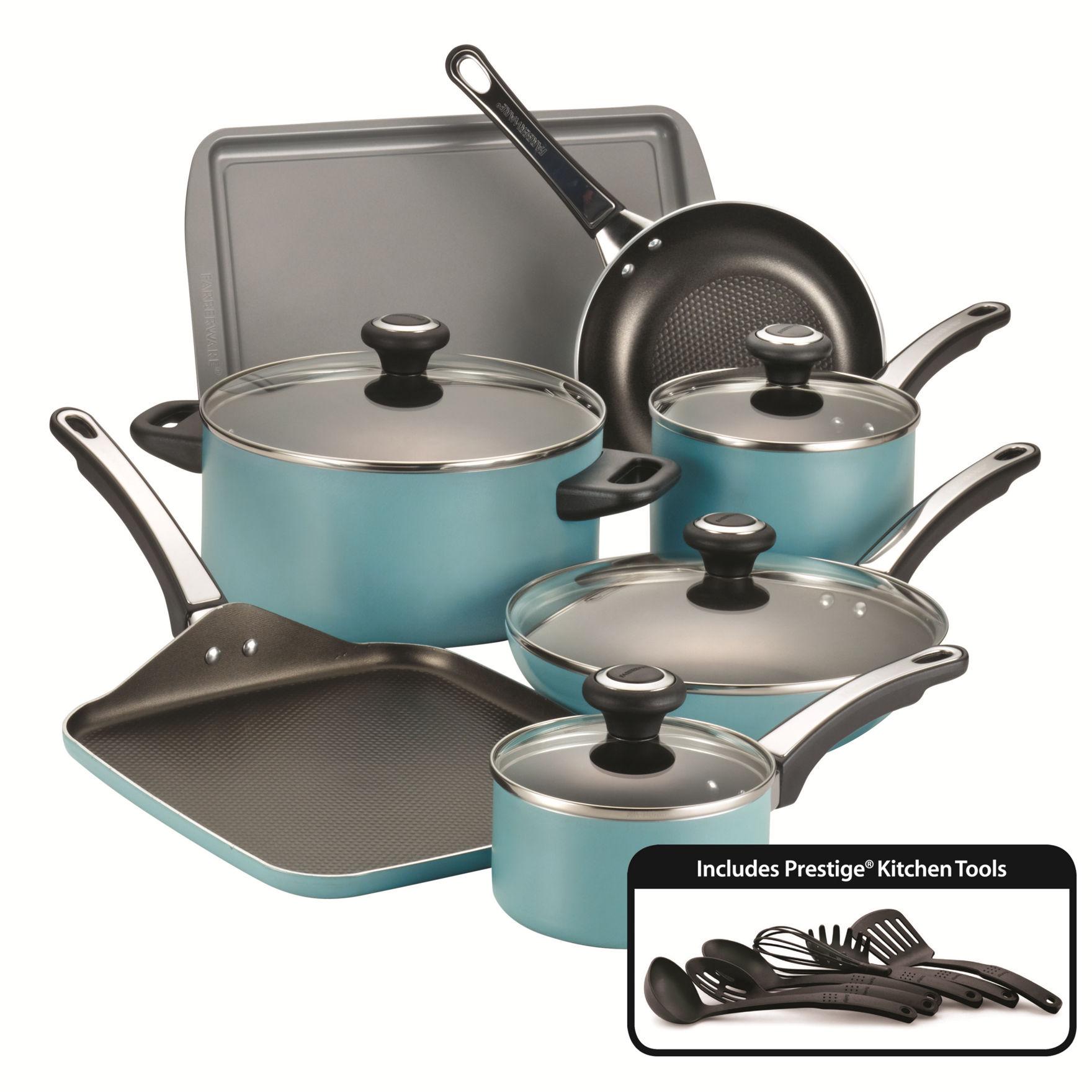 Farberware Aqua Cookware Sets Cookware