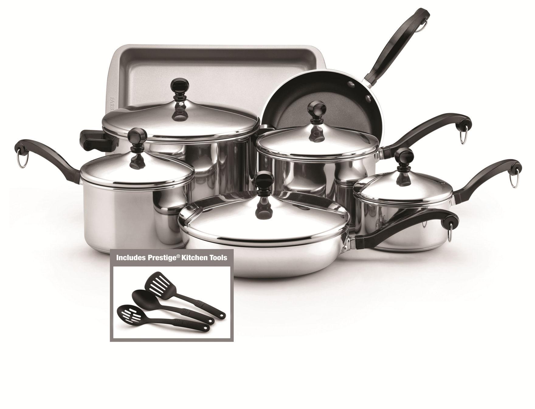 Farberware Silver Cookware Sets Cookware