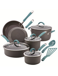 Rachael Ray Grey Cookware Sets Cookware