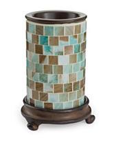 Candle Warmers Sea Glass Illumination Fragrance Warmer